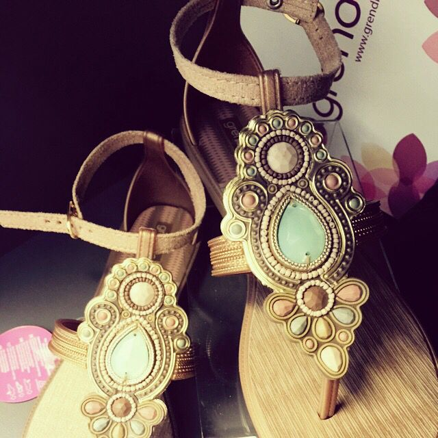 Grendha sandals Grecian inspired