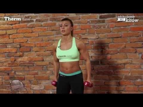 Trening ramion dla kobiet - FULL ARM WORKOUT - Natalia Gacka - YouTube