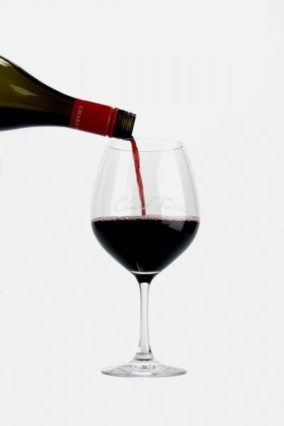 Chard Farm Pinot Glass