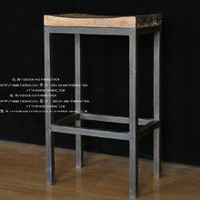 Eenvoudig te doen de oud hout, smeedijzeren stoelen, smeedijzeren barkrukken te doen van de oude barkruk barkrukken stoel(China (Mainland))