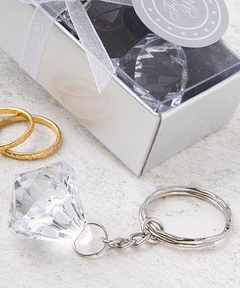 Clear Diamond Collection Diamond Design Key Chain