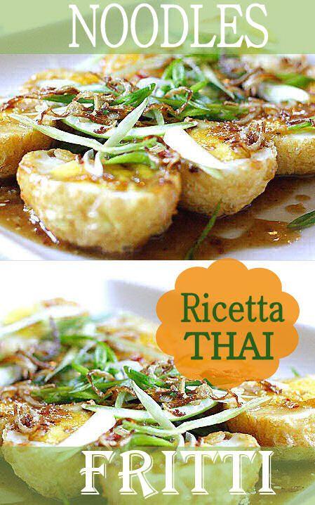 Noodles Thai fritti