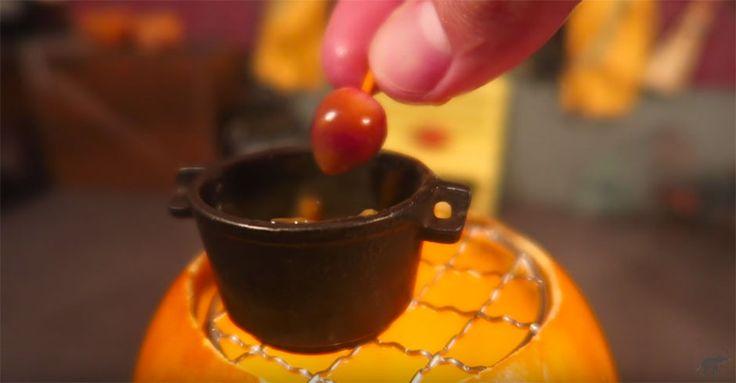 Mini-Karamelläpfel: Süßestes Dessert zu Halloween #News #Genuss