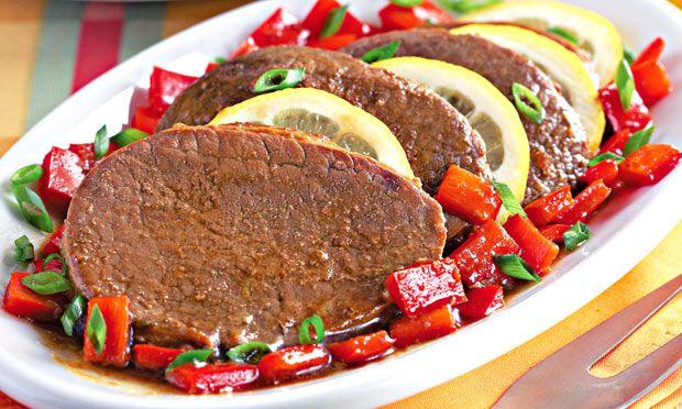 Bife de panela: Bife De Peixe-Espada, Receitas Bife, Brazilian Food, Panela, Preparar Sua,  Meatloaf, Comidas Brasileira, To Buy, Carne Comprar