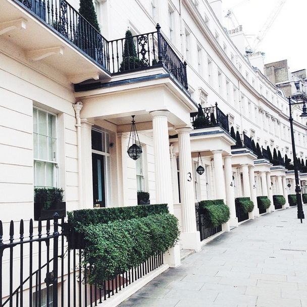 I miss the charming London side streets...