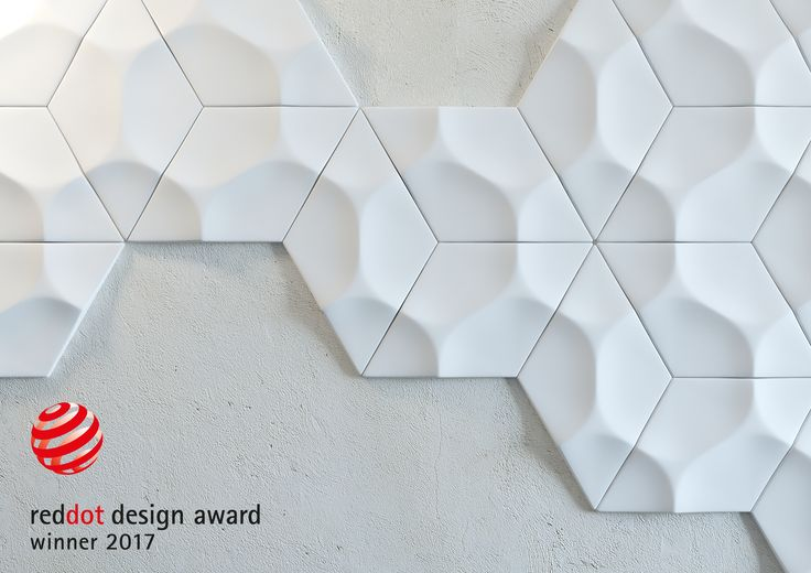 "ARSTYL® Wall Tiles, designed by @mac2578 Stopa, win the ""Red Dot"" for high design quality in both category 26, ""Interior Design"" & category 28, ""Materials and Surfaces""."