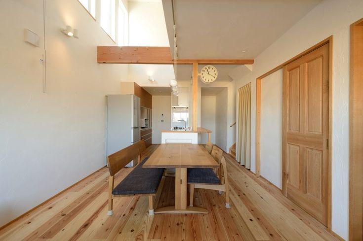16 5坪 北側リビングで叶えるシンプルハウス ハウス リビング 家