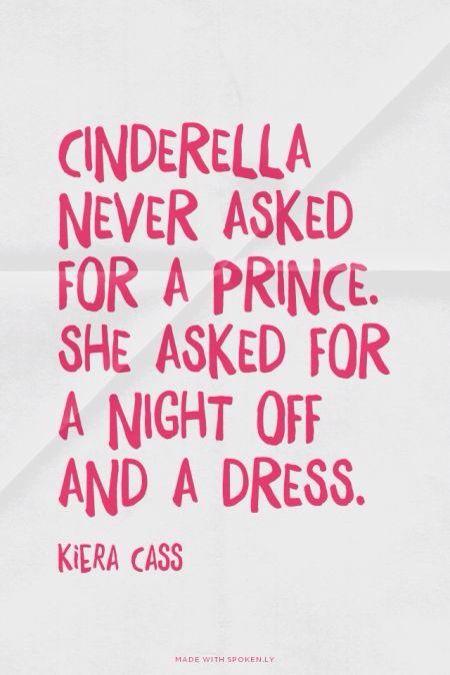 #Cinderella