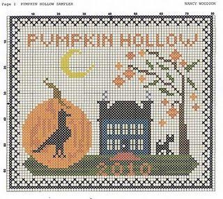 free cross stitch patternCrosses Stitches Embroidery, Stitches Freebies, Pumpkin Hollow, Needlework, Liberty Primitives, Beautiful Stitchery, Stitches Charts, Stitches Halloween, Crafts