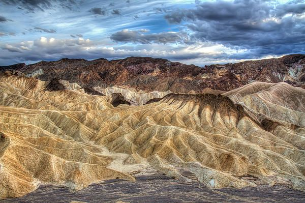 Incredible Zabriskie point in Death Valley Photograph