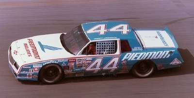 Terry Labonte in Billy Hagan's Piedmont Airlines Chevrolet in 1984...