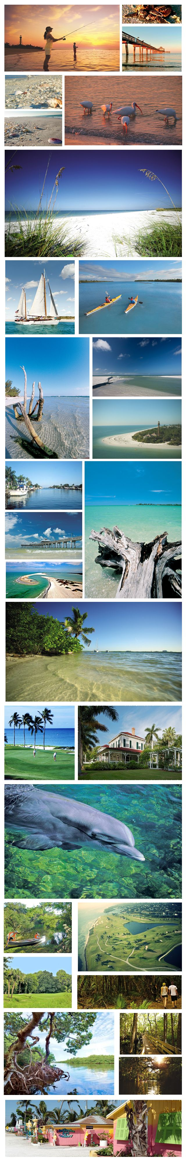 Away from the tourists...  The Beaches of Fort Myers and Sanibel