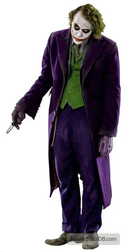 The Dark Knight Heath Ledger's Joker- Joker is probably one of the most fun cosplays to fem up!