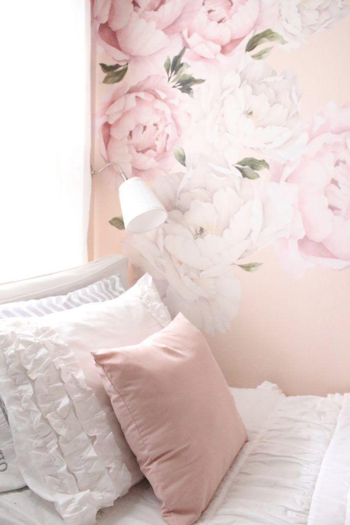 Sweet & Feminine Bedroom Space for a Tween Girl | Girl room ...