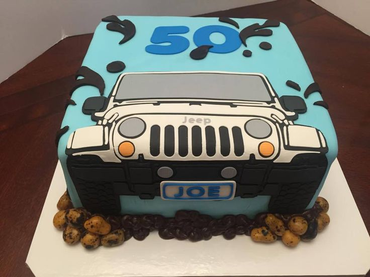 https://flic.kr/p/yFe3vb | 2d jeep birthday cake