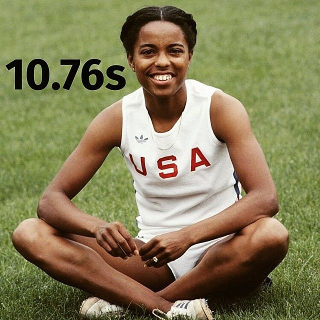 #EvelynAshford #100m #100mtime #PB #USA #OLYMPIC #GOLD #LA #1984 3x relay gold #🇺🇸 #track #athlete #sprinter #fitspiration