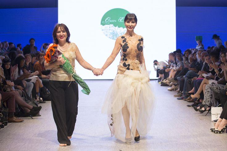 Vancouver Fashion Week 2015  #vanfashionweek #organicfashion #ecofashion #hautecouture #GOTS #greenembassy #runway