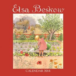 Elsa Beskow 2014 Calendar. Enjoy a year full of Elsa's charming illustrations! Dust Jackets, Elsa Beskow, Beskow Calendar,  Dust Covers, Christmas Gift, 2014 Calendar, Book Jackets, Beskow 2014,  Dust Wrappers