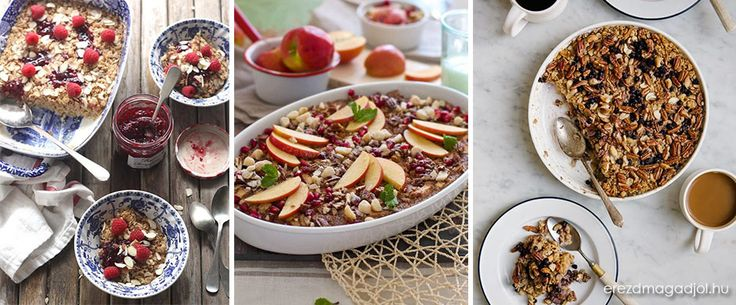 Diétás sült zabpehely almával – Egészséges reggelik