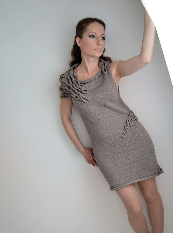 Last statement okapi knitted dress new collection by okapiknits,