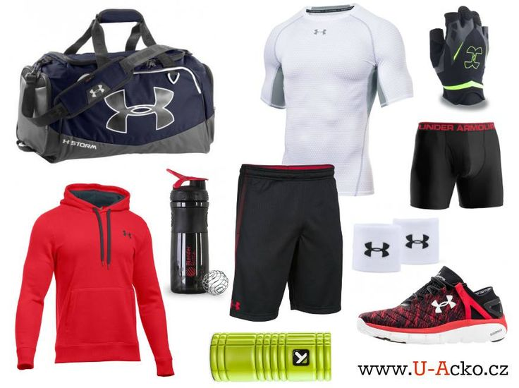 Co nosíš v tašce Under Armour ty?