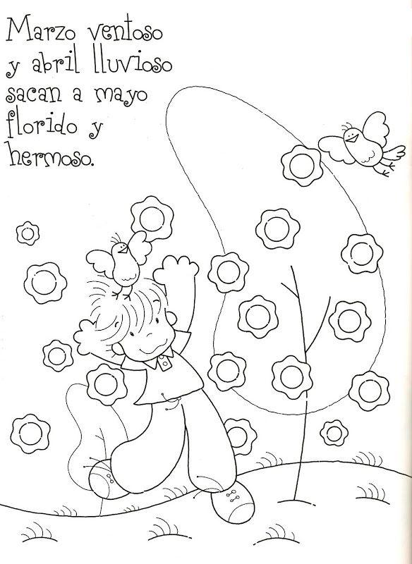 4be5f92cdd517fdb6ca746242cfd4f06 Poesías y rimas infantiles de los meses para niños