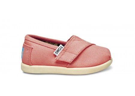 Pink Tiny Toms $29.00