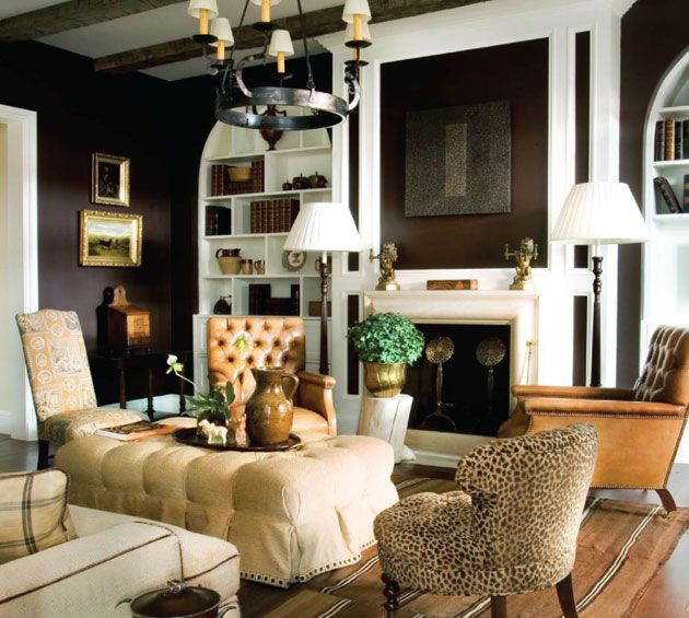 Southern Accents 101 Beautiful Rooms | addition to the living room the town house has a family room and third ...