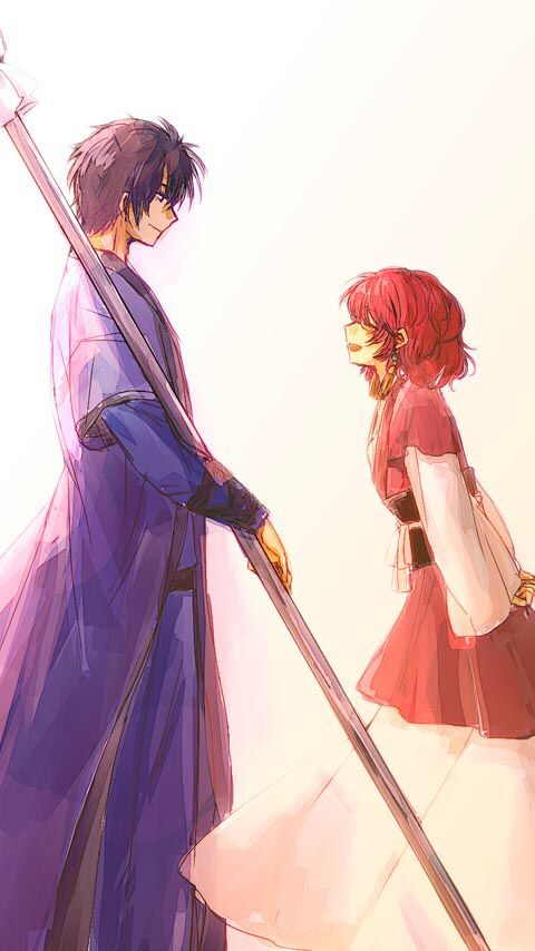 Hak and Yona. I ship them so much...