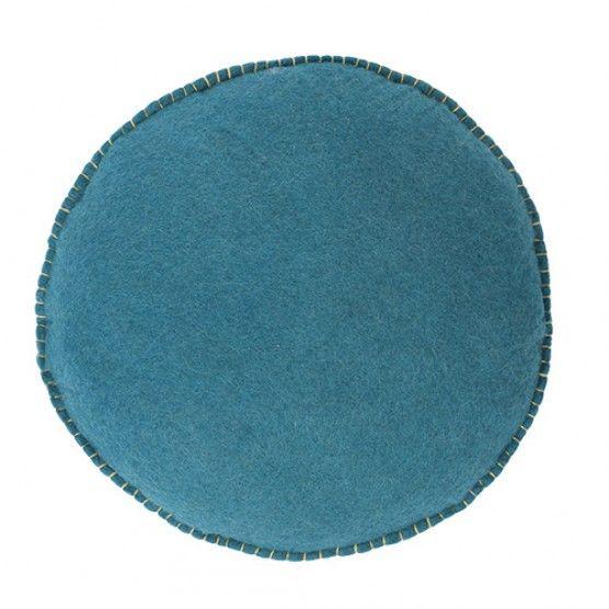 Confetti Floor Cushion - Teal
