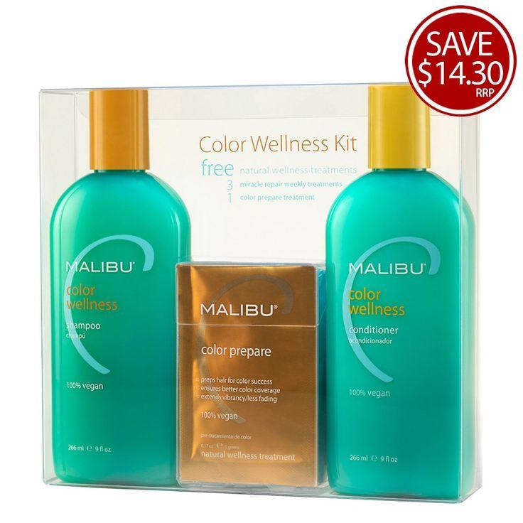 Buy 906415 Malibu C Colour Wellness Kit