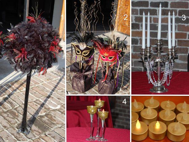 DIY Masquerade Party Crafts for Mardi Gras http://blog.diynetwork.com/maderemade/2014/02/26/masquerade-party/?soc=pinterest | party down | Pinterest | Masquer…