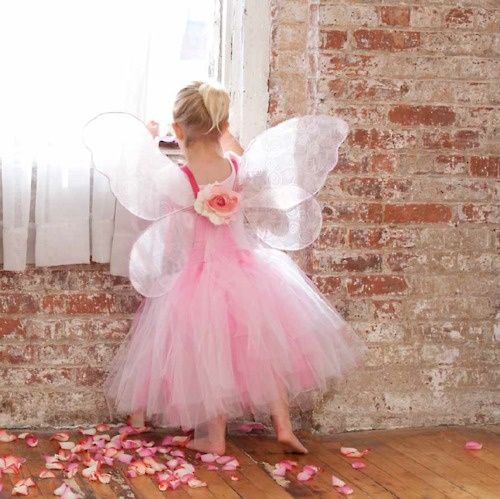 DIY Fairy-tale flower girl costume from The DIY Bride: An Affair To Remember