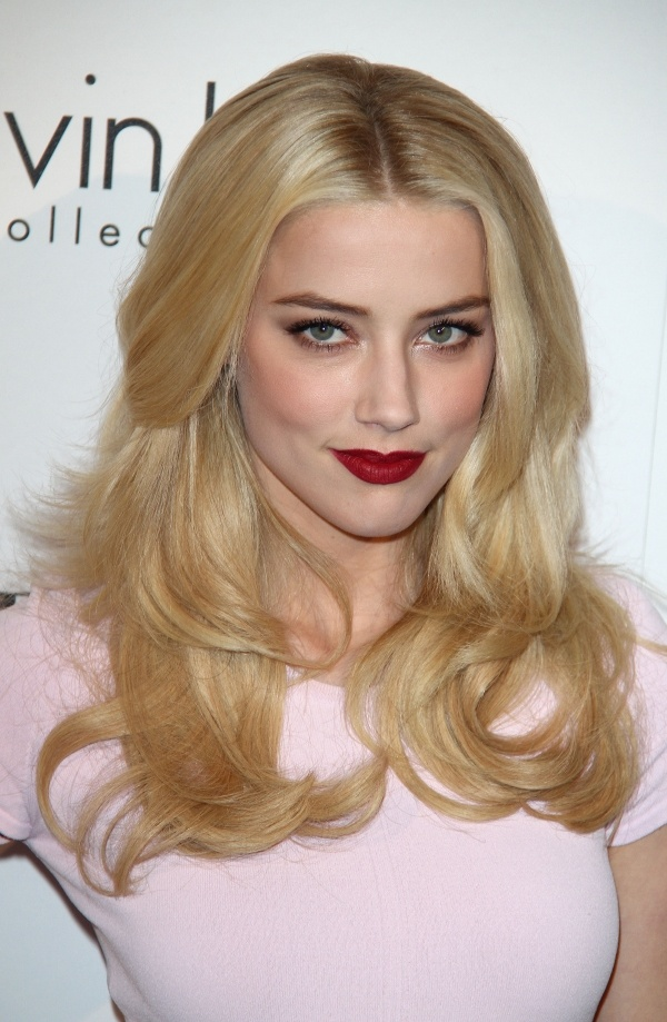 Amber Heard Love her HAIR