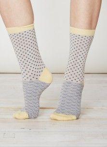 Wren Bamboo Socks Stone
