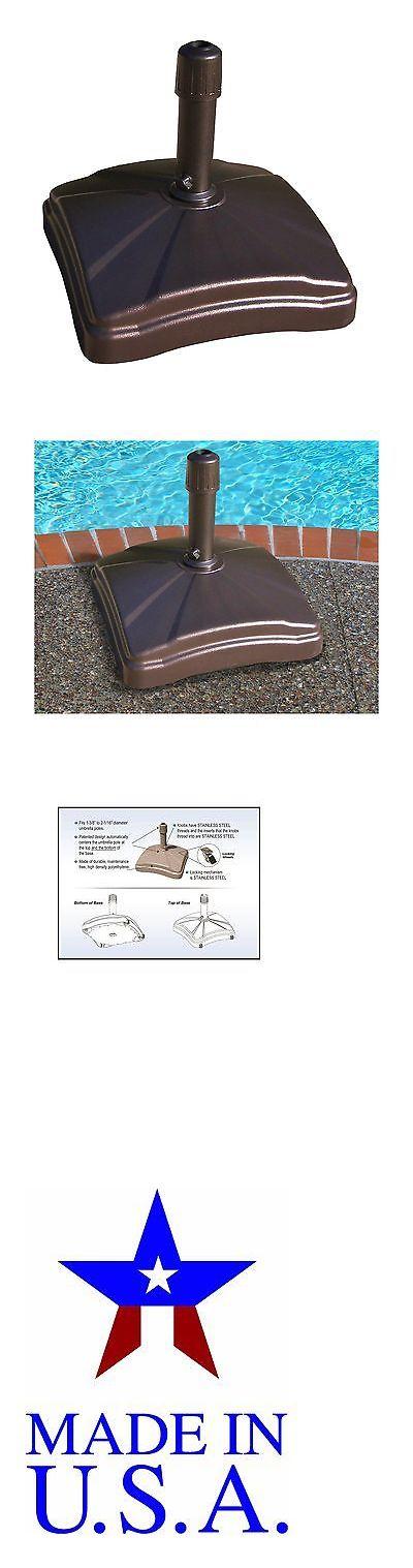 Umbrella Stands 180999: Shademobile Rolling Umbrella Base Bronze -> BUY IT NOW ONLY: $174.61 on eBay!