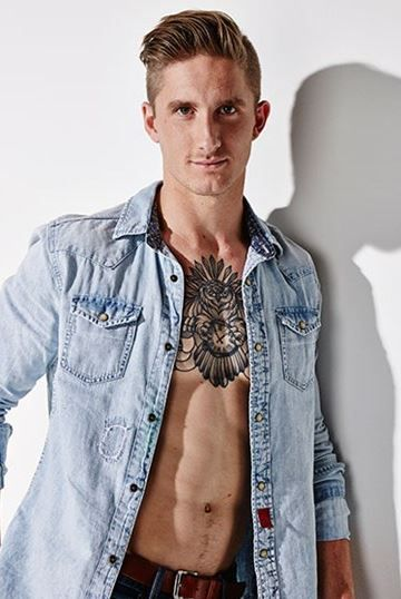 Hamish Hartlett, AFL Player and Cleo Magazine Bachelor Contestant 2014