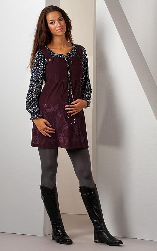 Těhotenská šatovka Vella :: Těhotenské šaty - Těhotenská móda