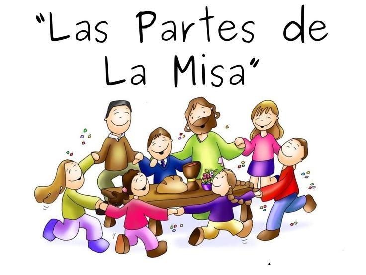 Partes de la misa (para chicos) by Claudio Montenegro via slideshare