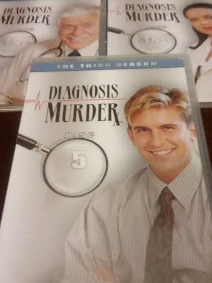 DVD Set Diagnosis Murder: Season 3 3 Discs NO BOX Dick Van Dyke  #NCircleEntertainment