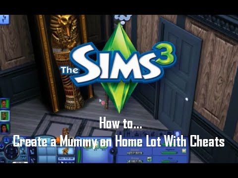 How to create a mummy in the Sims 3 on a home lot with Cheats.    Press ctrl+shift+c to get cheat box up in game.  Cheat 1: testingcheatsenabled true Cheat 2: buydebug  #thesims3 #thesims #sims #gaming #howto #cheats