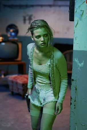 Vogue IT - Like in a movie - Mélanie Thierry by Peter Lindbergh