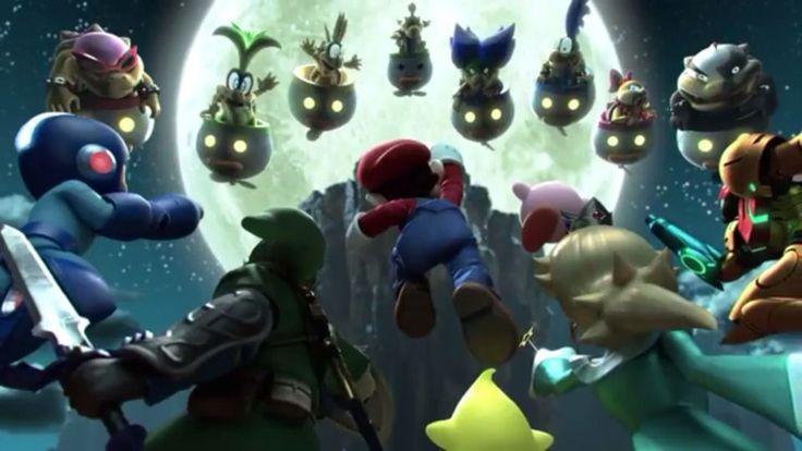 Megaman vs sonic vs mario vs kirby
