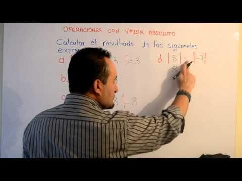 Operaciones con Valor Absoluto | Clases Gratis de Matemáticas - YouTube