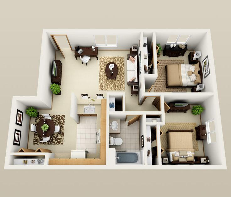 First floor, floor plan at South Shore Point Apartments