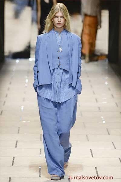 Модный цвет 2016 Серенити Trussardi