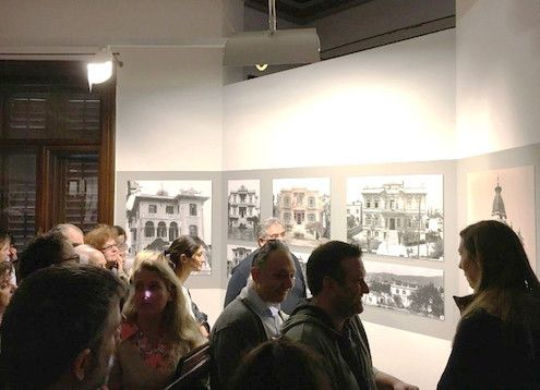 Επίσκεψη του Τμήματος Αρχιτεκτονικής του Μητροπολιτικού Κολλεγίου Θεσσαλονίκης στην έκθεση «Η συνοικία των Εξοχών 1885-1912» #MitropolitikoKollegio #Thessaloniki #Bachelor #Architecture