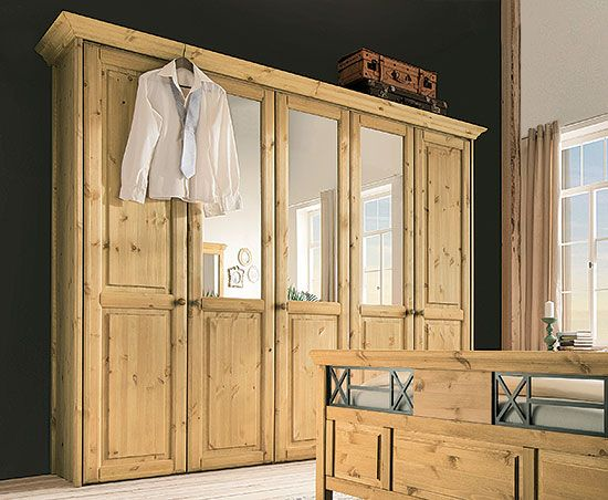 Luxury Dreht ren Kleiderschrank Veneziana Massivholz allnatura de