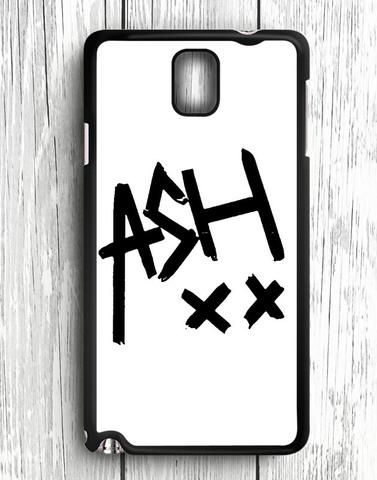 White 5 SOS Ashton Irwin Signature Samsung Galaxy Note 3 Case