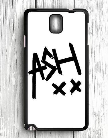 White 5 SOS Ashton Irwin Signature Samsung Galaxy Note 3 Case